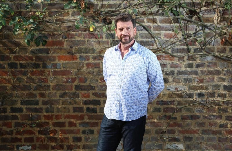 portrait of nick knowles